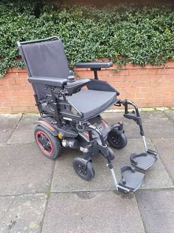Preview of the first image of Quickie Q100 R  Ultra Compact Electric Power Wheelchair..