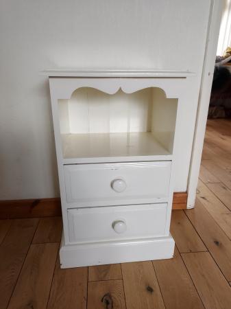 Image 2 of Pine bedside cabinet