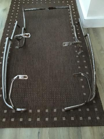 Preview of the first image of Vespa ET4 bumper bars & faring bars for sale.