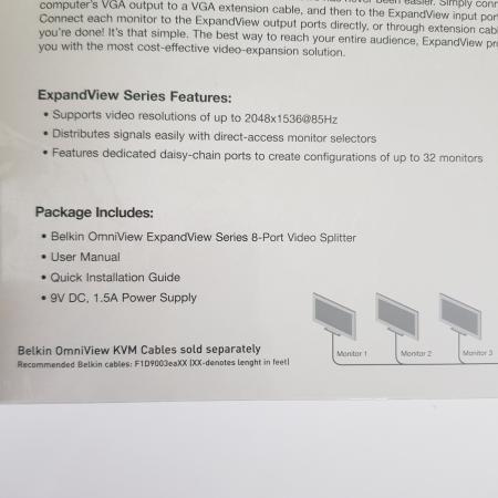 Image 2 of Brand New 8-Port Video Splitter
