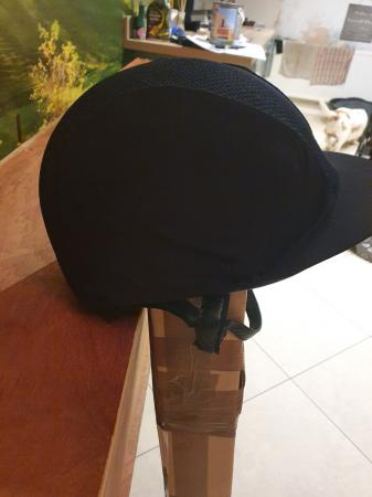 Image 3 of Charles Owen Riding Hat Black size