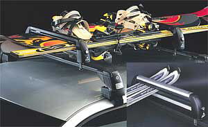 Image 2 of Ski / Snowboard carrier adaptors for roof racks by Fapa