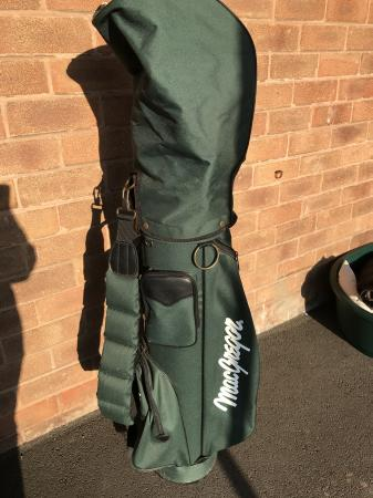 Image 1 of Macgregor Golf bag with clubs