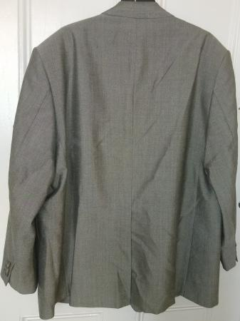 Image 2 of Mold & Russell Light Grey Bespoke Suit Jacket