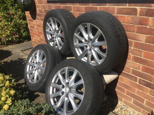 Image 2 of Mazda 6 set of 4x wheels