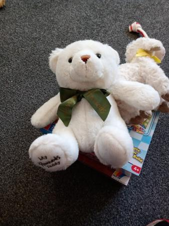 Image 1 of MY HARRODS TEDDY BEAR.