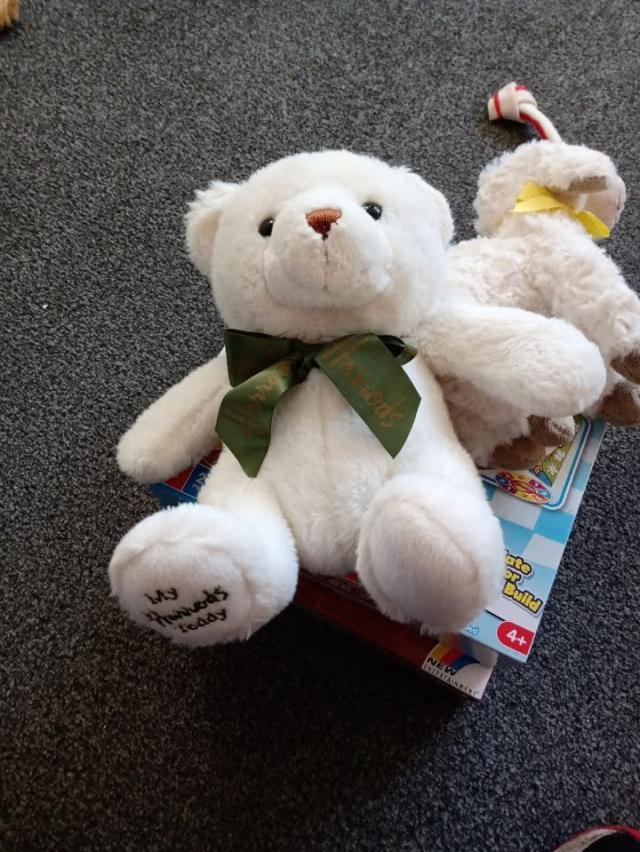Preview of the first image of MY HARRODS TEDDY BEAR..