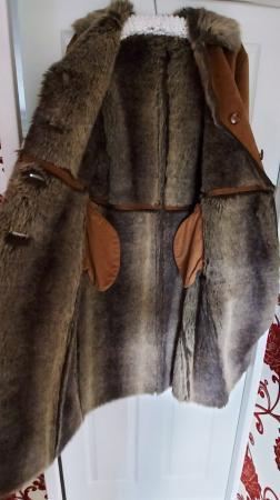 Image 3 of Vintage Hucke oversized winter coat never worn size 12