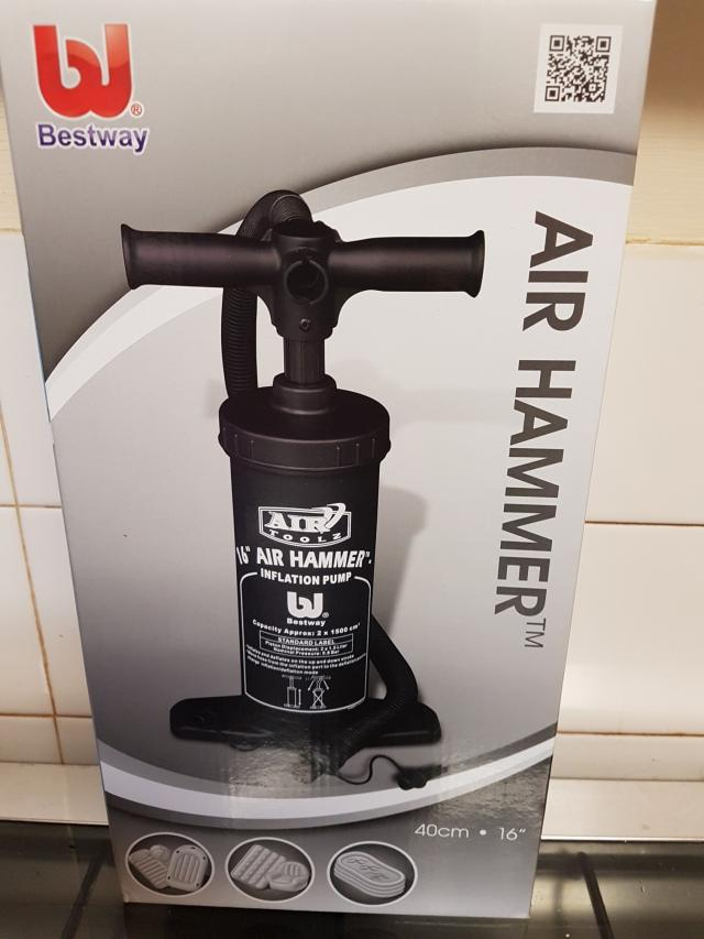 Preview of the first image of New Air Hammer Pump.