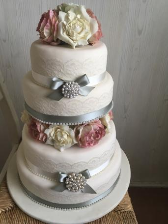 The Cake Is Polystyrene Covered In Real Icing To Give A Affect I Used This Method Save Money And Bought Favourite Advert
