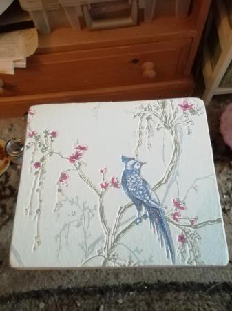 Image 1 of upcycled small wooden coffee table