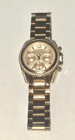 75dabbcc0e0d MICHAEL KORS LADIES ROSE GOLD BLAIR WATCH MK5263. This advert is located in  and around Watford