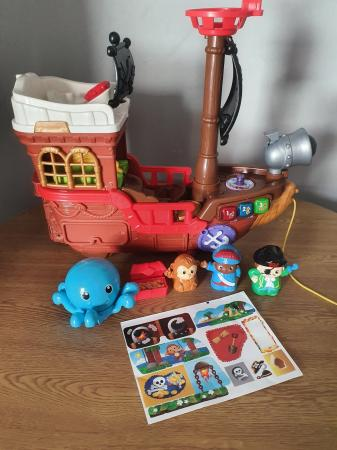 Image 1 of vtech toot toot friends kingdom pirate ship.