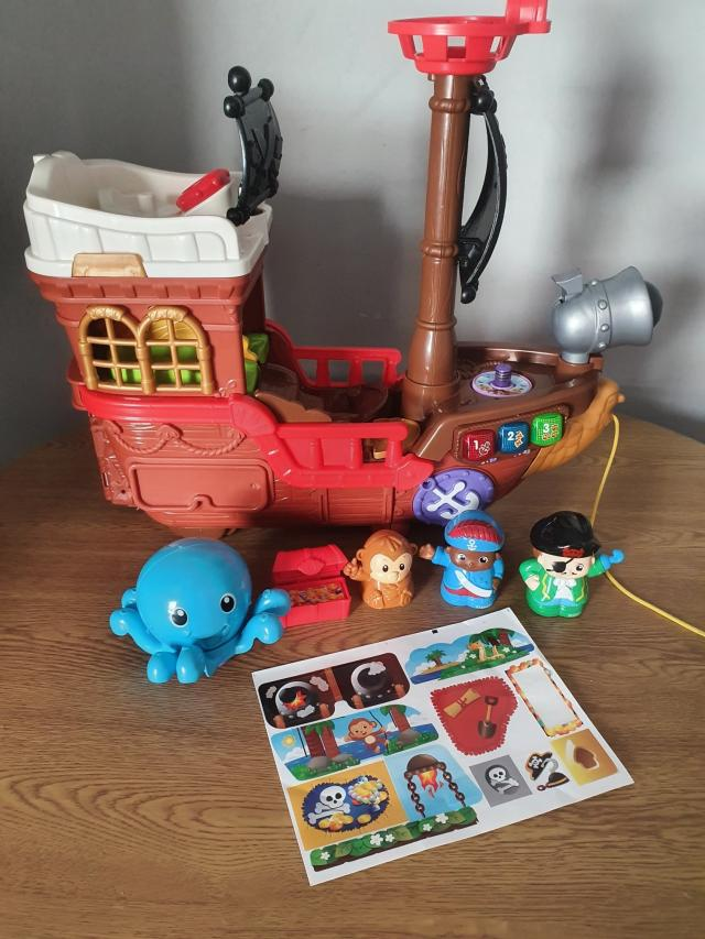 Preview of the first image of vtech toot toot friends kingdom pirate ship..