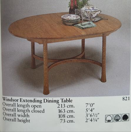 Image 6 of Ercol extending dining table
