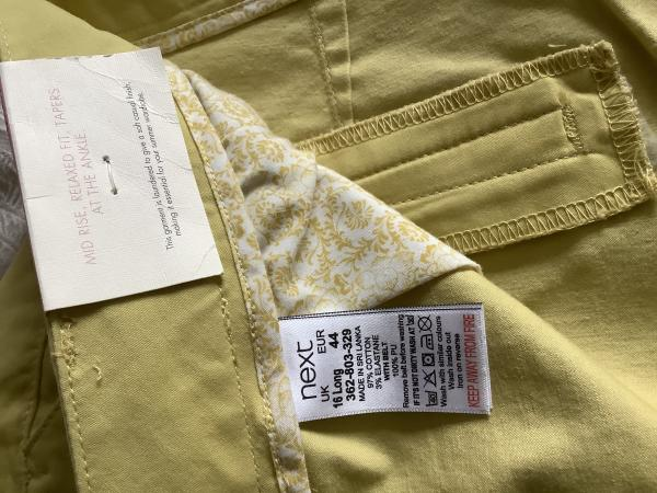 Image 3 of Next chinos BNWT Size 16L