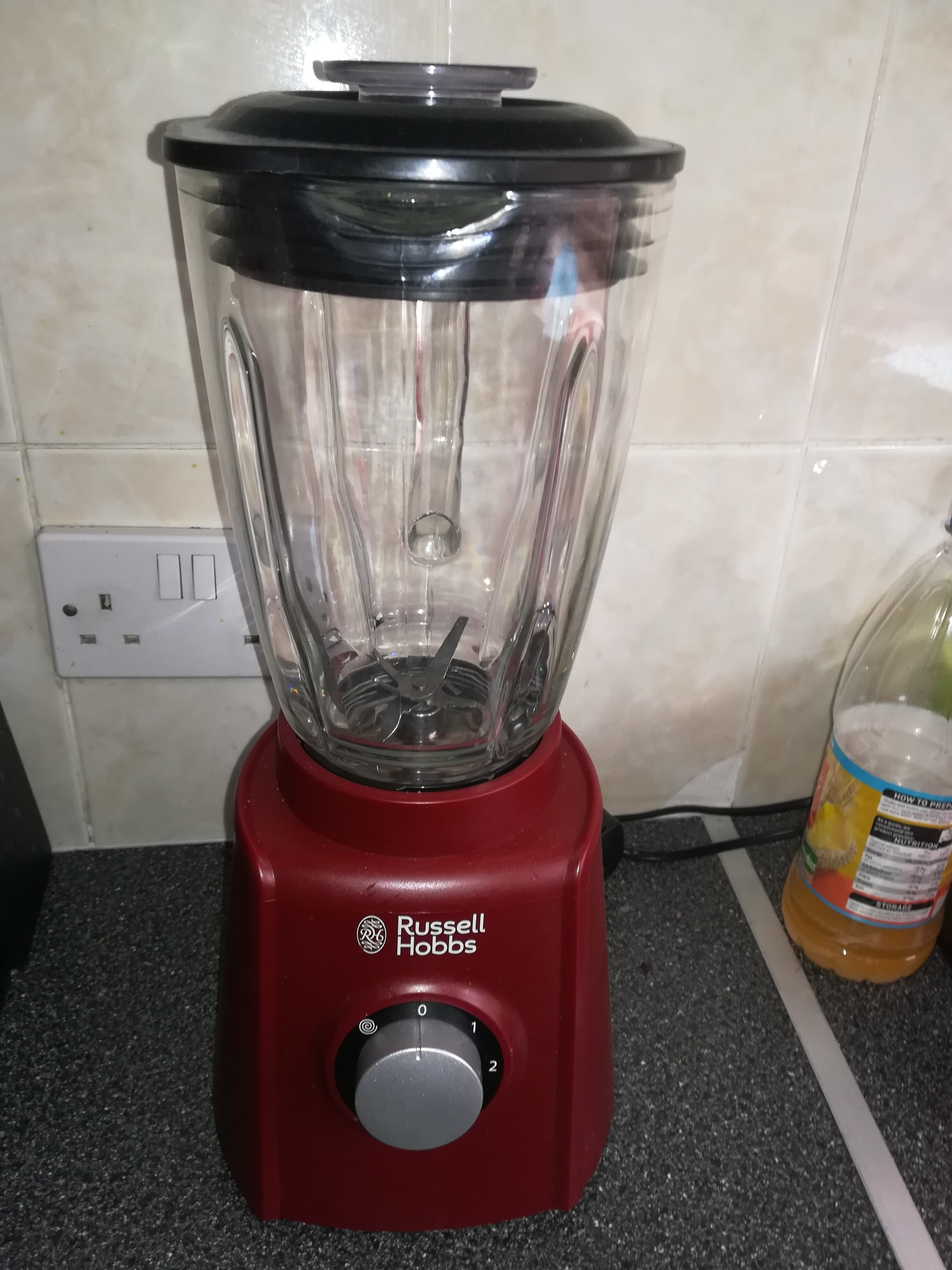 russell hobbs red blender