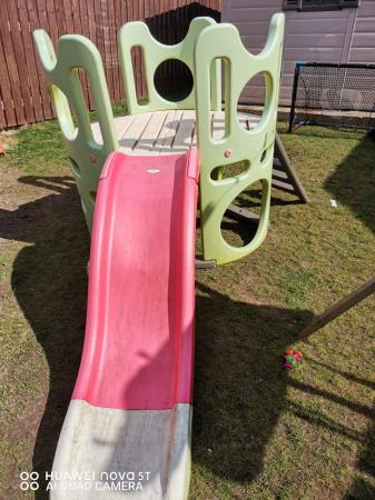Image 1 of smoby climbing tower and slide