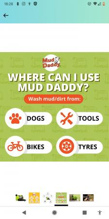 Image 2 of Mud Daddy unwanted gift portable washer