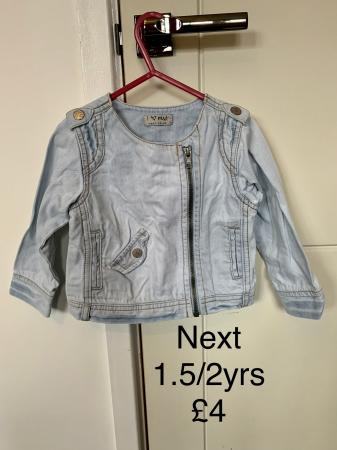Image 2 of Various Baby jackets 9 - 18 months