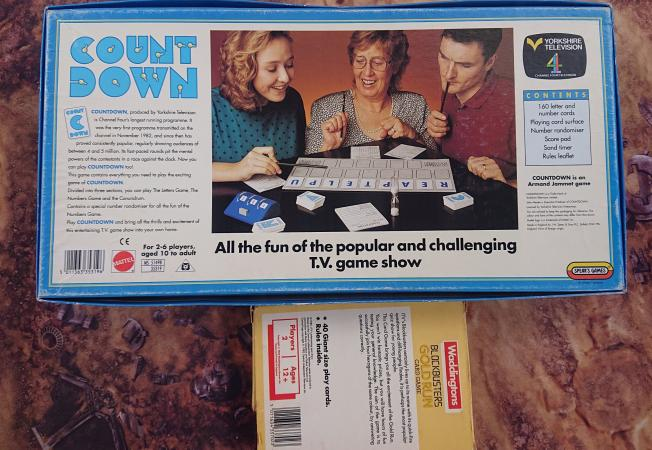 Image 2 of Countdown and Blockbuster nostalgia boardgames