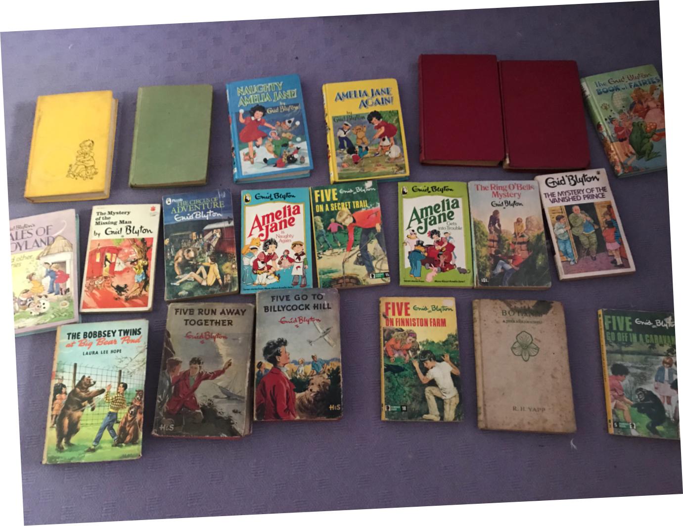 blyton books enid Vintage