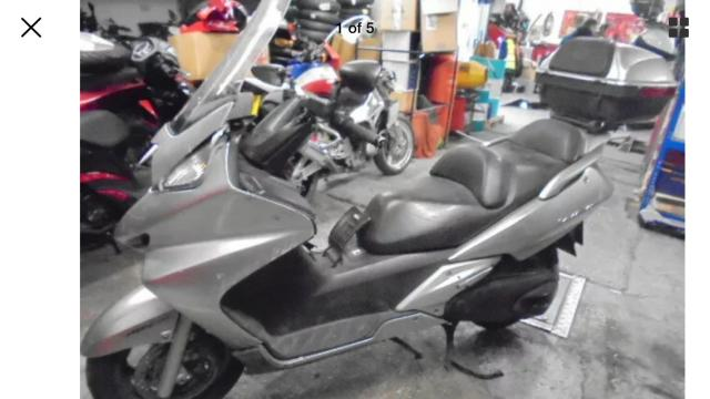 Preview of the first image of Honda fjs600 silverwing 2009 breaking.