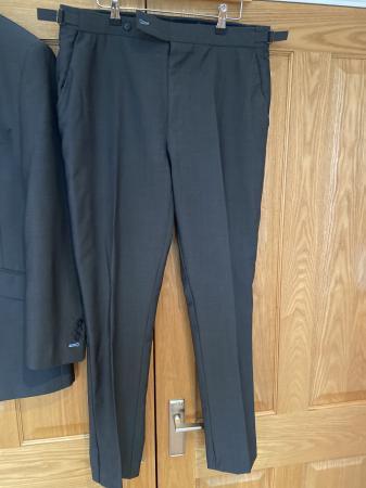 Image 2 of Men's charcoal grey saville row suit