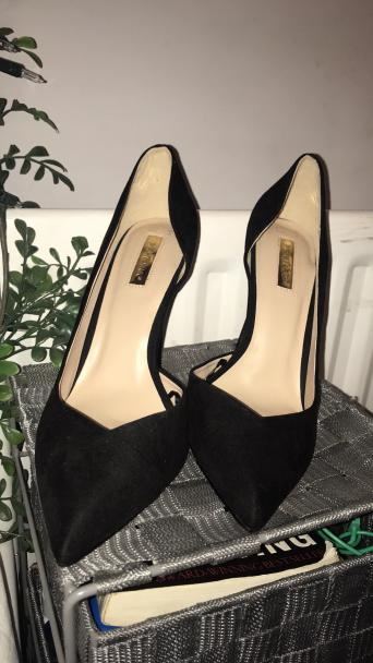 9585c927302a Black size 7 heels from primark Paid £12 but never worn.