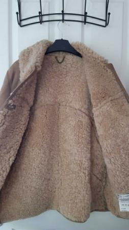 Image 3 of Real Sheepskin Coat