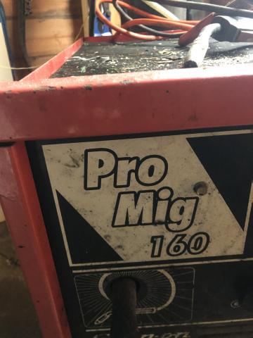 Preview of the first image of Snap-on   Pro mig 160.