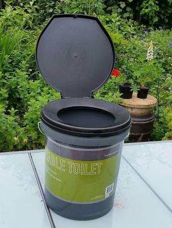 portable toilet - Used Camping Equipment, Buy and Sell in the UK and ...