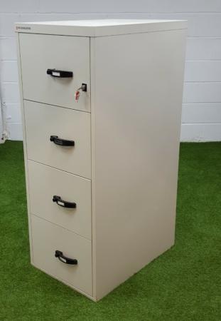 hot sale online 18055 5c98f Rosengrens Fireproof Filing Cabinet cheap