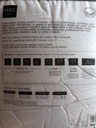 Image 3 of Luxury single duvets