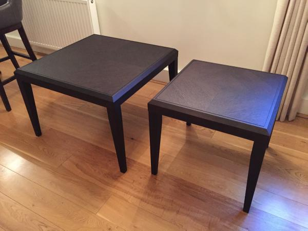 Image 1 of WOODEN COFFEE TABLES X2