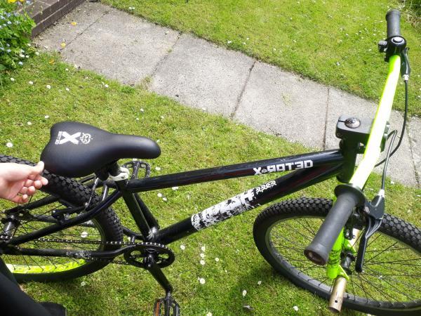 "Image 3 of X-rated dirt jump bike 26"" wheels"