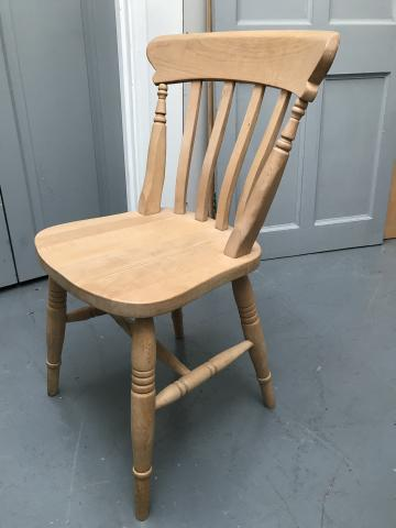 Preview of the first image of 4 ash Kitchen Chairs.