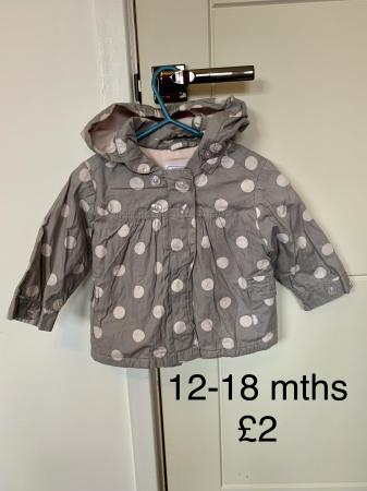 Image 3 of Various Baby jackets 9 - 18 months