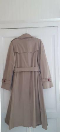 Image 2 of Genuine Aquascutom Ladies Trench Coat