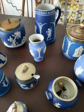 Image 3 of assorted jasperware collection