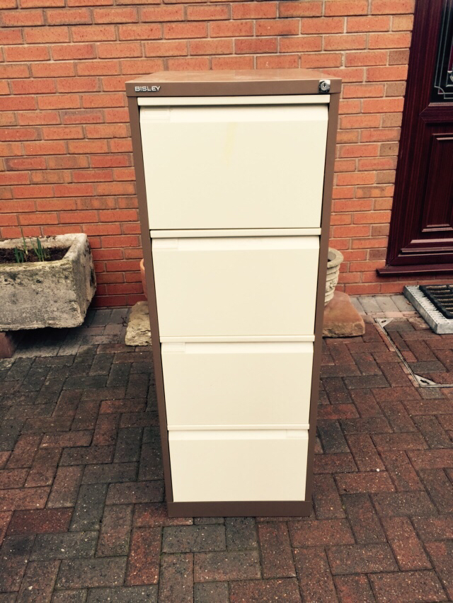 4 drawer filing cabinet second hand office furniture buy sell and rh preloved co uk Draw for Plastic Filing Cabinet Cheap Metal Filing Cabinets