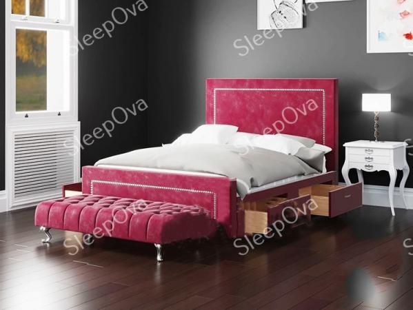 Image 2 of Calvin Sleigh Bed