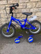 "Dawes Children's 14"" Bicycle with Stabilisers - £40"
