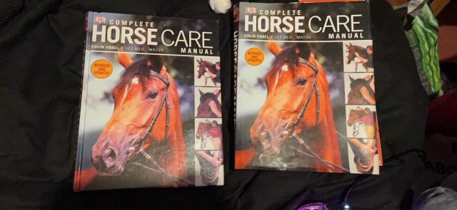 Preview of the first image of Horse care manual.