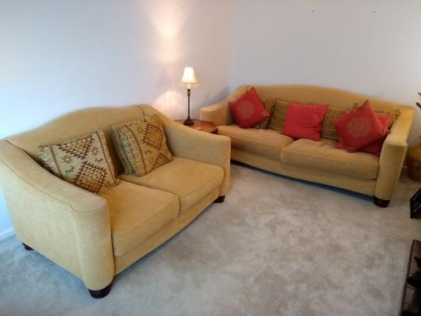 John Lewis Large Comfortable Sofas