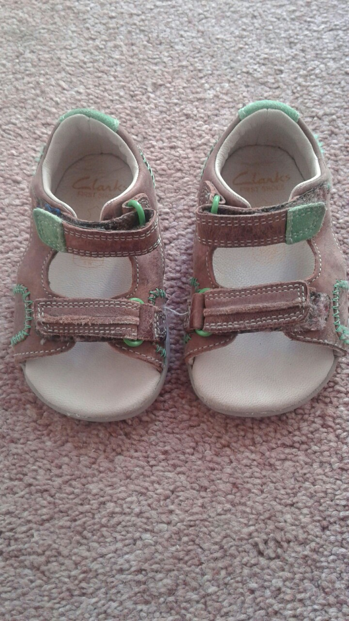 Clark Items Preloved Sandals Kids Hand Second fqnwpfRF