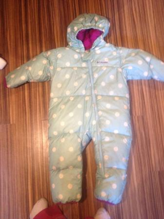 a2365cf8e Girls Columbia down all in one snow suit age 2yrs For Sale in Darwen ...