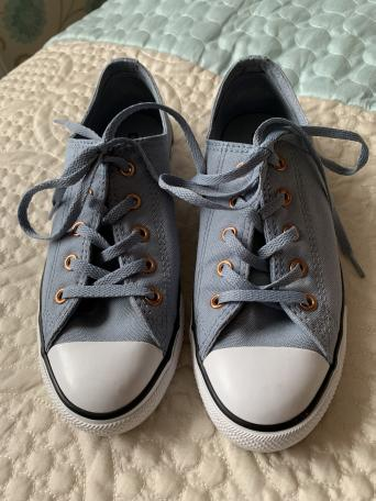 9482b75a671 ... Converse All Star Pumps in Size 5. They have been worn only once so  they are in excellent condition. Item can be posted but there will be an  additional ...