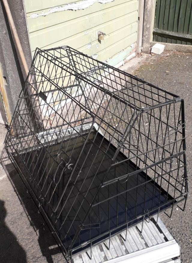 Preview of the first image of Car dog crate for sale.