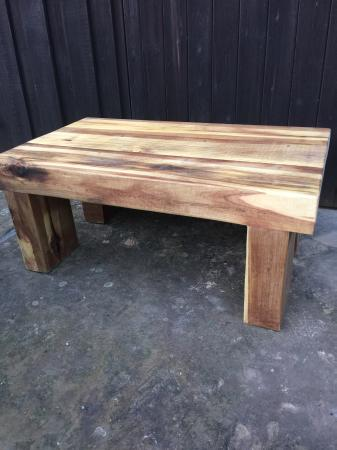 Image 1 of SOLID/CHUNKY/RUSTIC COFFE TABLE/TV STAND